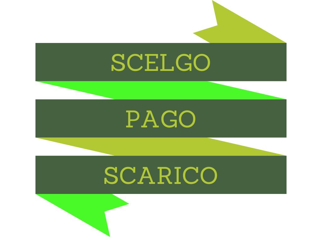 Scelgo Pago Scarico