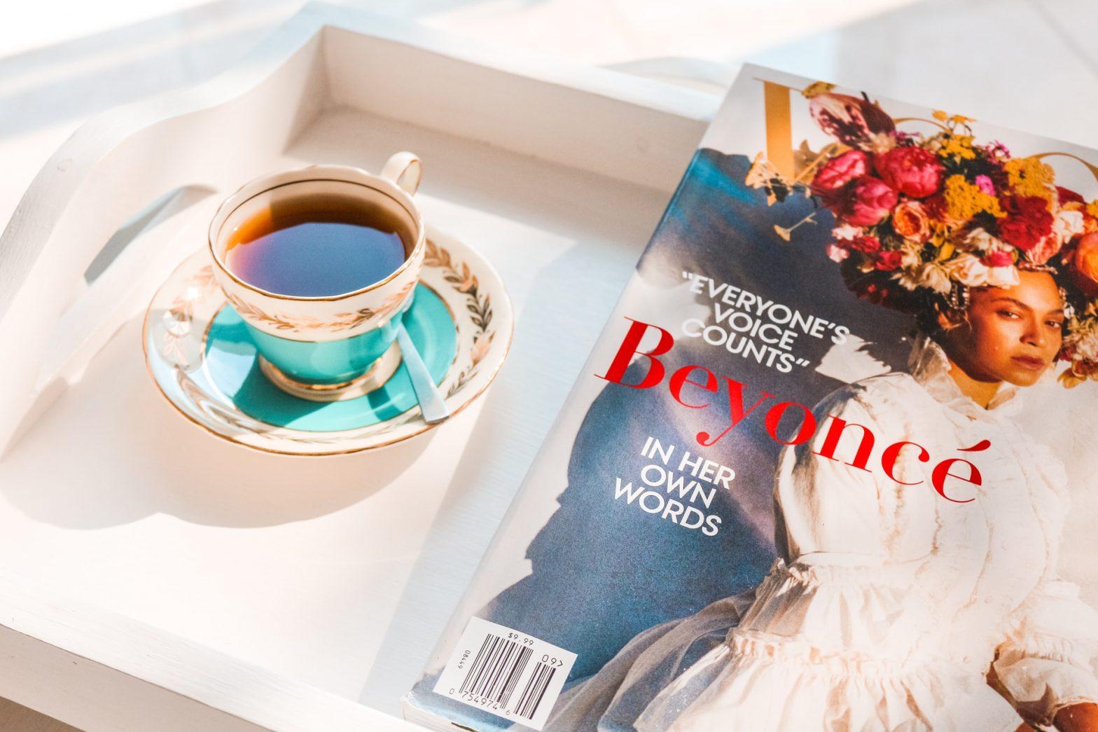 Copertina di Vogue con Beyoncé