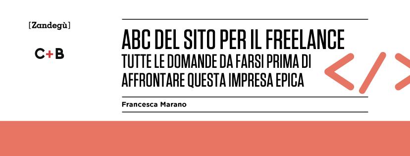 """Copertina del libro """"Abc del sito del freelance"""""""